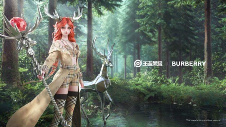 La marque Burberry est retirée d'Honor of Kings en Chine