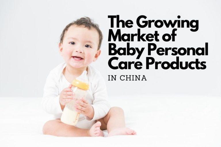 Soins bébé en Chine, un marché en pleine croissance