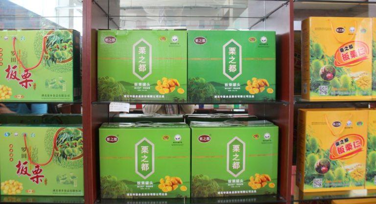 Comment vendre des châtaignes en Chine?